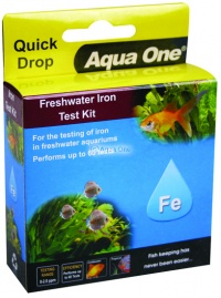 Aqua One Quick Drop Test Kit - Iron