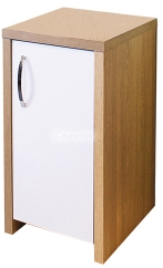 Inspire 30 Cabinet - Oak / White Gloss Door from Aqua One