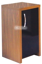Inspire 30 Cabinet - Walnut / Black Gloss Door from Aqua One