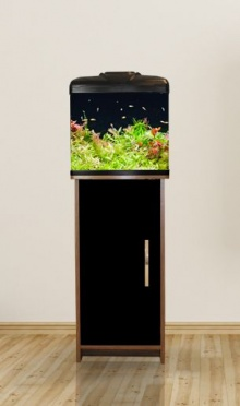 Aqua One Aqua Vue 380 Aquarium & Stand Black