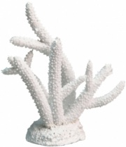 NEW ** Aqua One White Coral Staghorn (14.5x4.7x15cm) Aquarium Decor