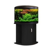 Aqua One UFO 550 Aquarium & Cabinet Black